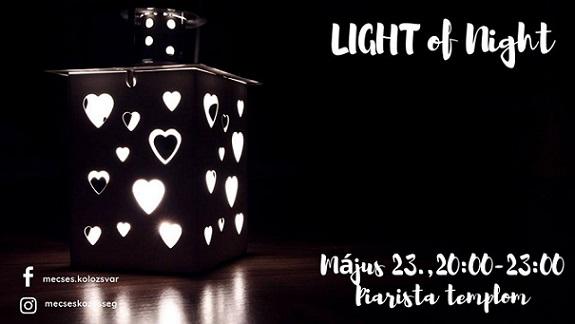 23 mai Light Of Night 2019
