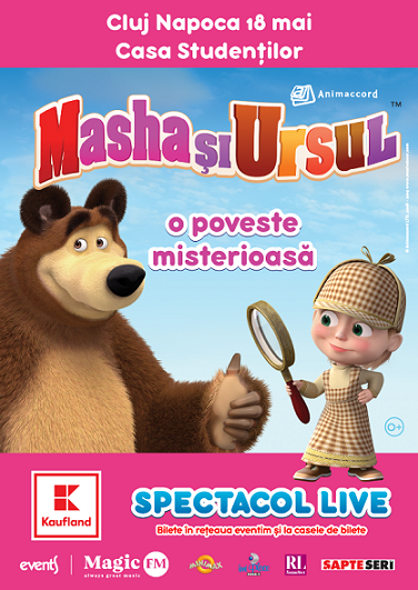 18 mai Masha și Ursul