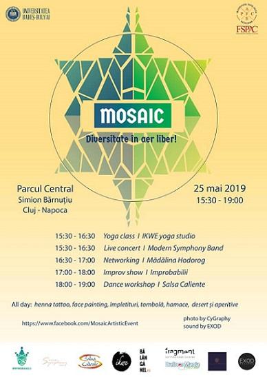 25 mai Ne Bălăngănim la Mosaic