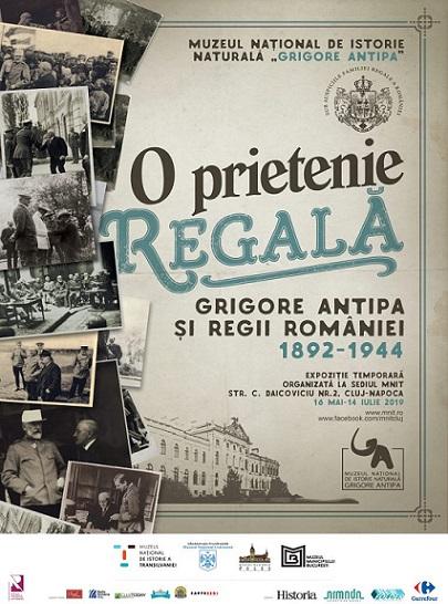 14 iulie Expoziţia O prietenie regală: Grigore Antipa şi regii României 1892-1944