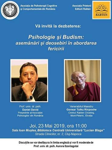 23 mai Psihologie și Budism: asemănări și deosebiri în abord