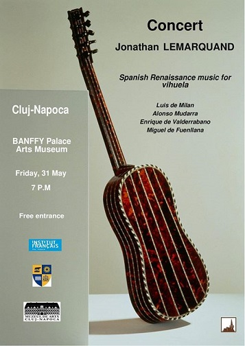 31 mai Spanish Renaissance music for vihuela