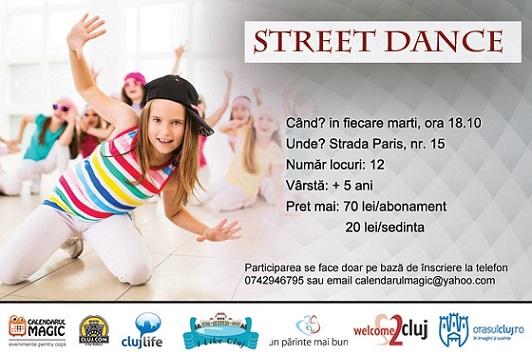 21 mai Street dance pentru copii