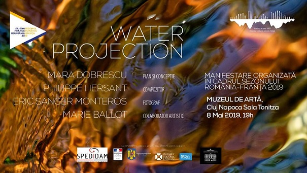 8 mai Water Projection