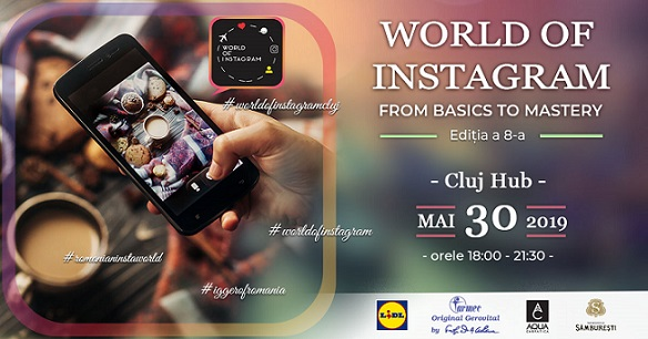 From Basics to Mastery: Conferința World of Instagram Cluj