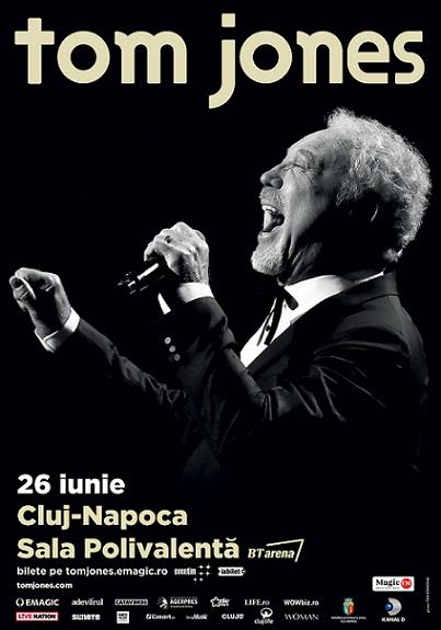 Sir Tom Jones – in concert la Cluj-Napoca