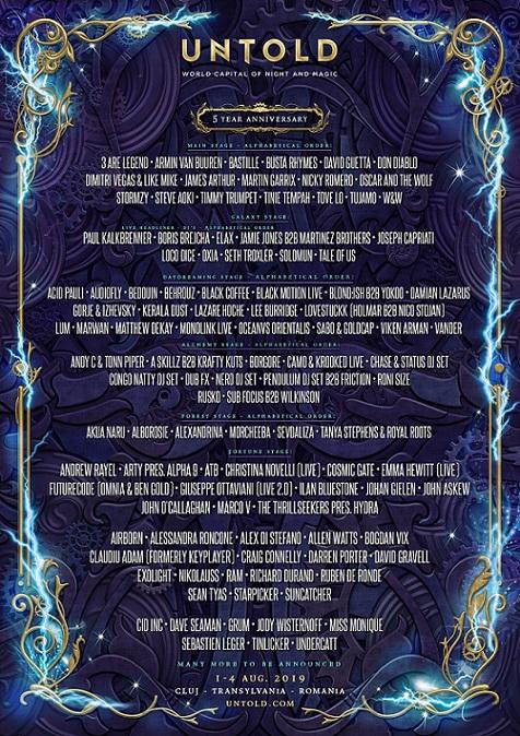 1-4 august Untold