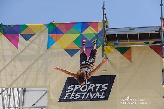 Sports Festival – Highlights vineri, 14 iunie, airbag jump demo, street dance, paradă și teatru