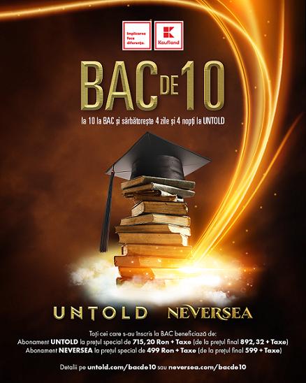Campania bac de 10 motivează absolvenții de liceu și în 2019