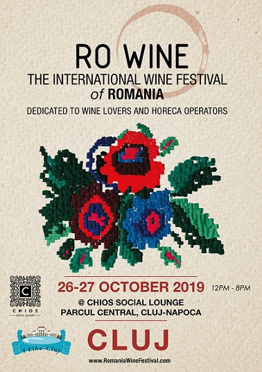 RO-Wine, The International Wine Festival of Romania, revine in inima Transilvaniei