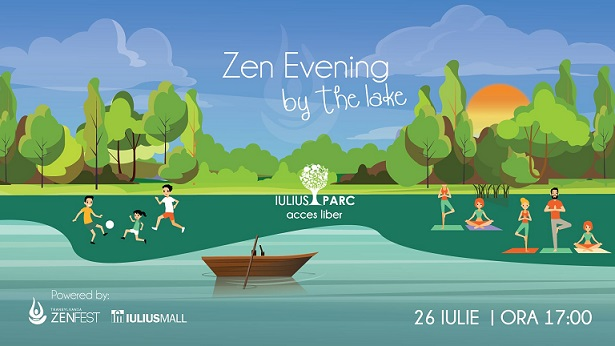 26 iulie Zen Evening by the Lake
