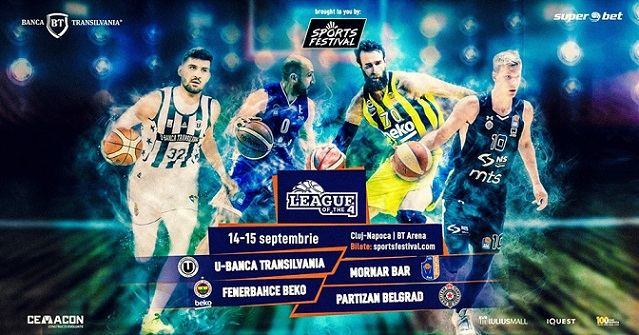 14-15 septembrie League of the 4