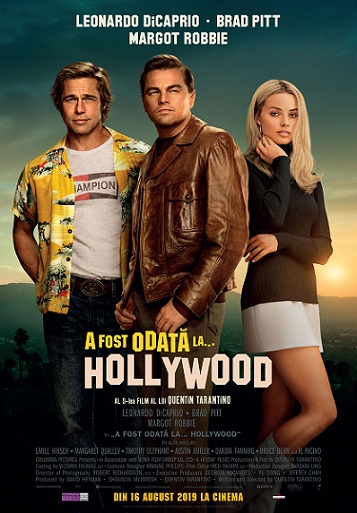 16 august Once Upon a Time in Hollywood