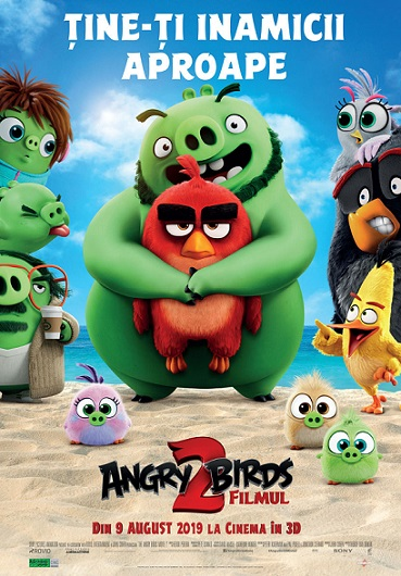 8 august The Angry Birds Movie 2