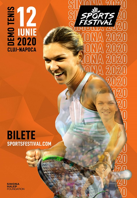 Simona Halep revine la Sports Festival 2020