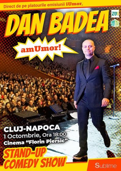 Castigatorul invitatiei duble la stand up comedy show cu Dan Badea – amUmor