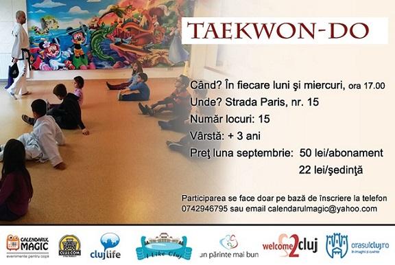 18septembrie Curs de Taekwon-Do pentru copii