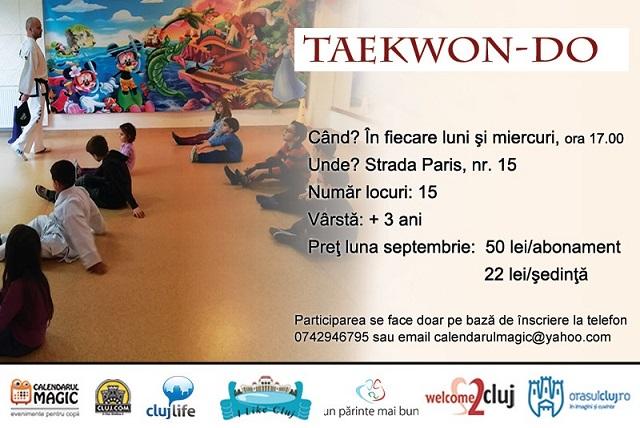 16 septembrie Curs de Taekwon-Do pentru copii