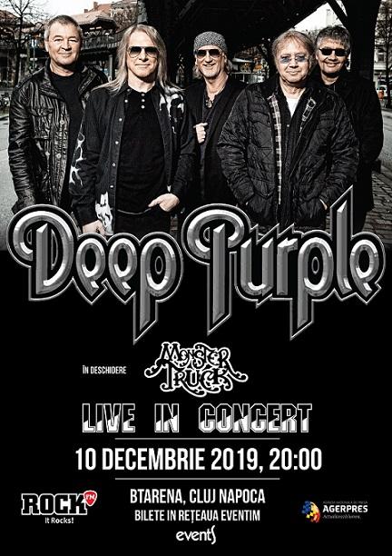 10 decembrie Deep Purple