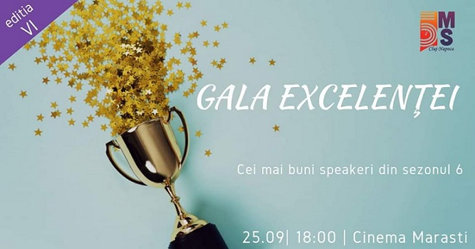25 septembrie Gala Excelenței 5MS