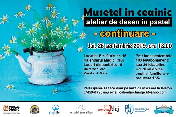 26 septembrie Musetel in ceainic