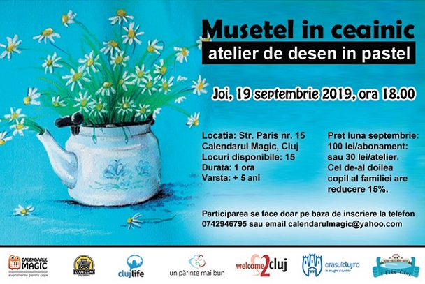 19 septembrie Musetel in ceainic