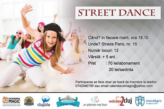 1 octombrie Street dance pentru copii