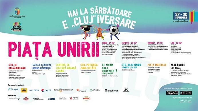 27-30 septembrie Zilele Clujului