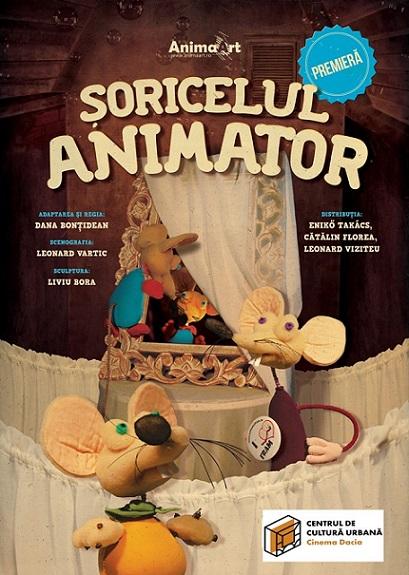 27 octombrie Premiera Șoricelul Animator