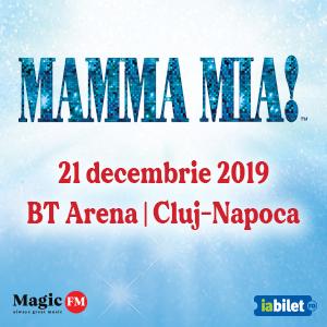 Banner mama mia evenimente Cluj