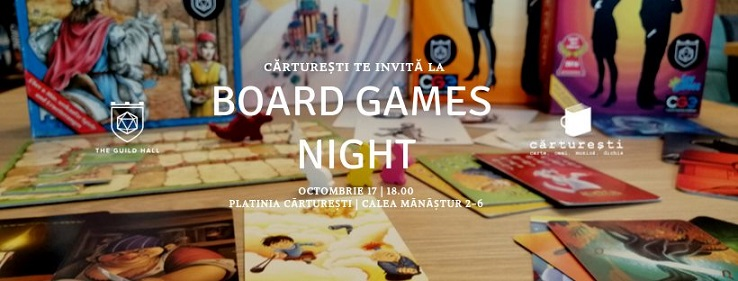 17 octombrie Board Games Night