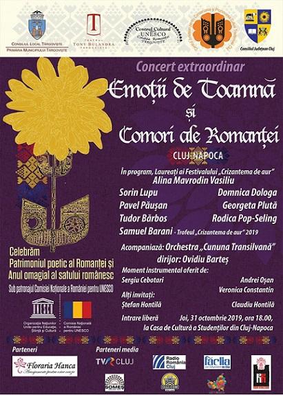 31 octombrie Comori ale Romanţei
