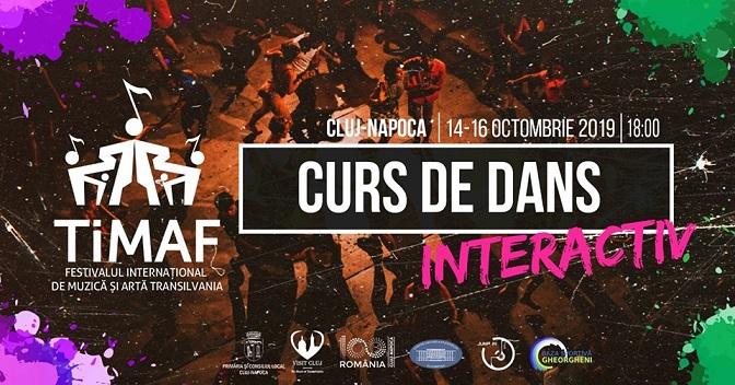 14-16 octombrie TIMAF – Curs de Dans Interactiv
