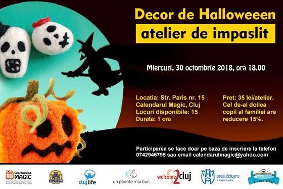 30 octombrie Decor de Halloween