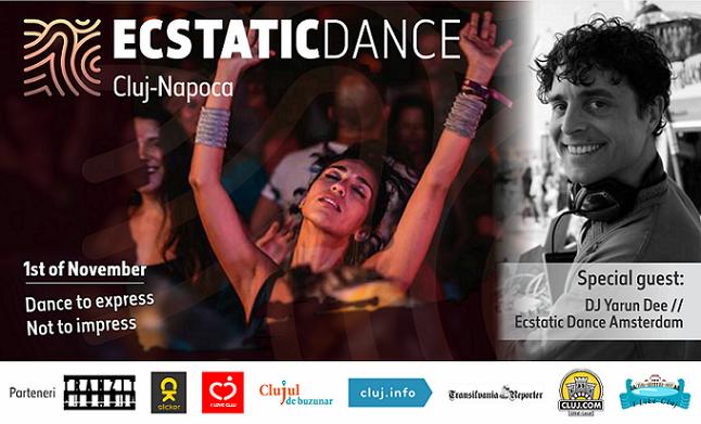 1 noiembrie Ecstatic Dance