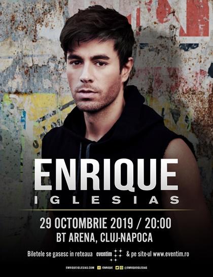 29 octombrie Enrique Iglesias