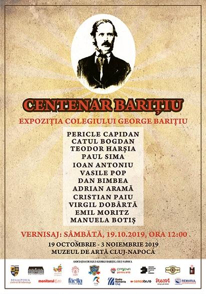 27 octombrie Expoziția Centenar Barițiu