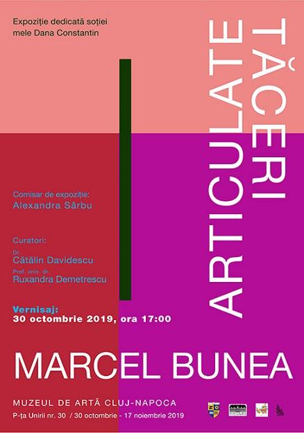 30 octombrie-17 noiembrie Expozitia Tăceri articulate