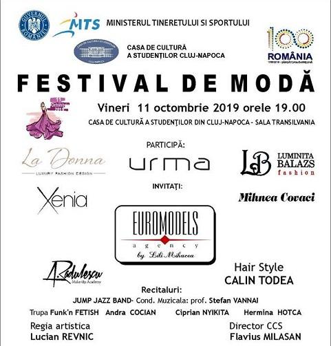 11 octombrie Festival de Modă