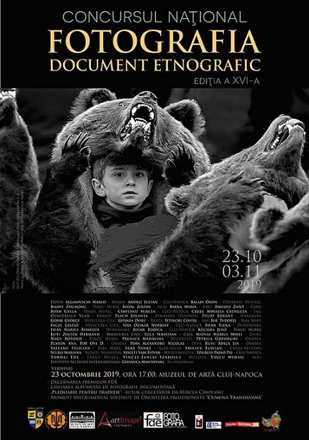"23 octombrie-3 noiembrie 2019 Concursul naţional ""Fotografia-document etnografic"""