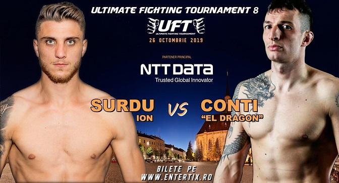 26 octombrie Gala UFT 8 – MMA si Kickbox