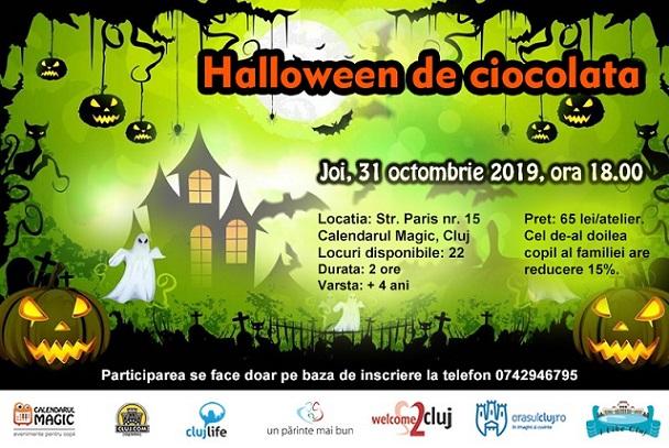 31 octombrie Halloween De Ciocolata