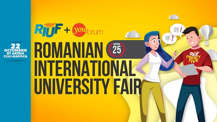 22 octombrie RIUF – Romanian International University Fair