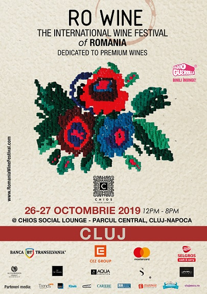 26-27 octombrie RO Wine – International Wine Festival of Romania