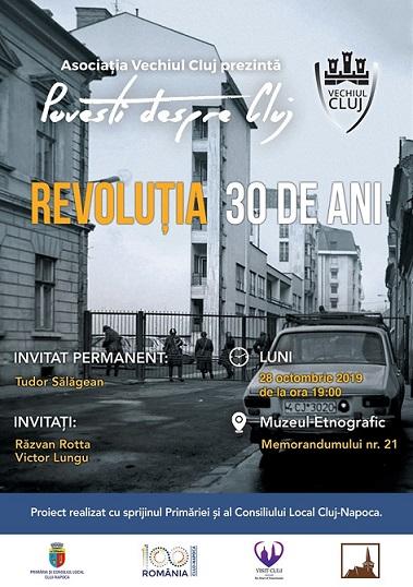 28 octombrie Povești despre Cluj – Revoluția 30 de ani
