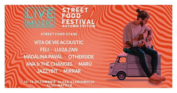 10-13 octombrie Street Food Festival