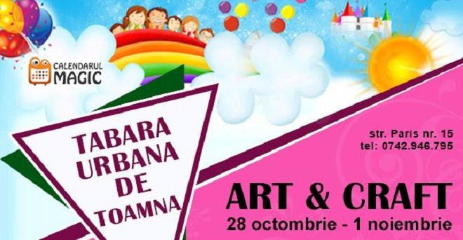 28 octombrie-1 noiembrie Tabara urbana de toamna