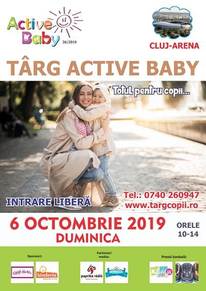 6 octombrie Targ pentru copii Active Baby