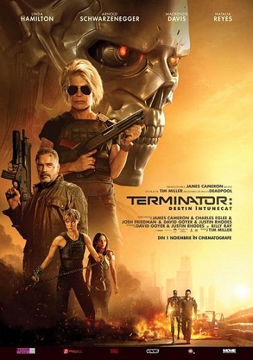 31 octombrie Terminator: Dark Fate