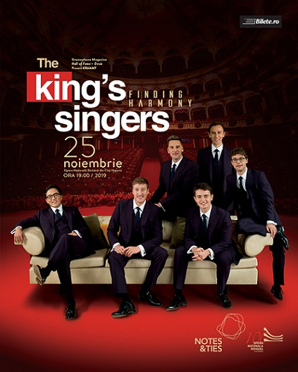 25 noiembrie The King's Singers – Finding Harmony